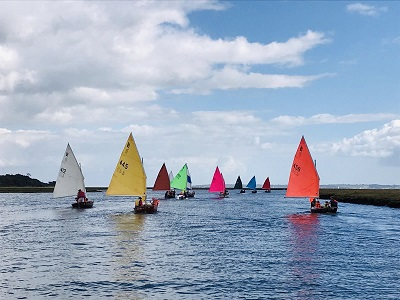 Scows on the Lymington River